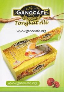 Tongkat Ali Ginseng Coffee
