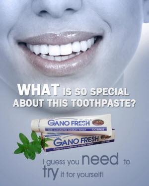 Gano Toothpaste